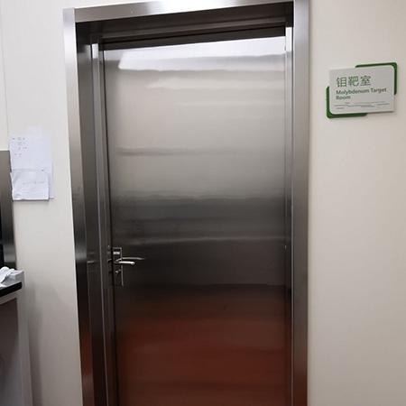 手动防辐射平开门