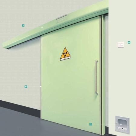 四川重型防辐射自动门
